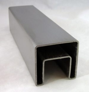 Square U-Tube Rails